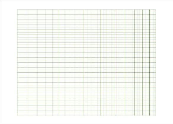 10 Graph Paper Templates Word Excel PDF Templates