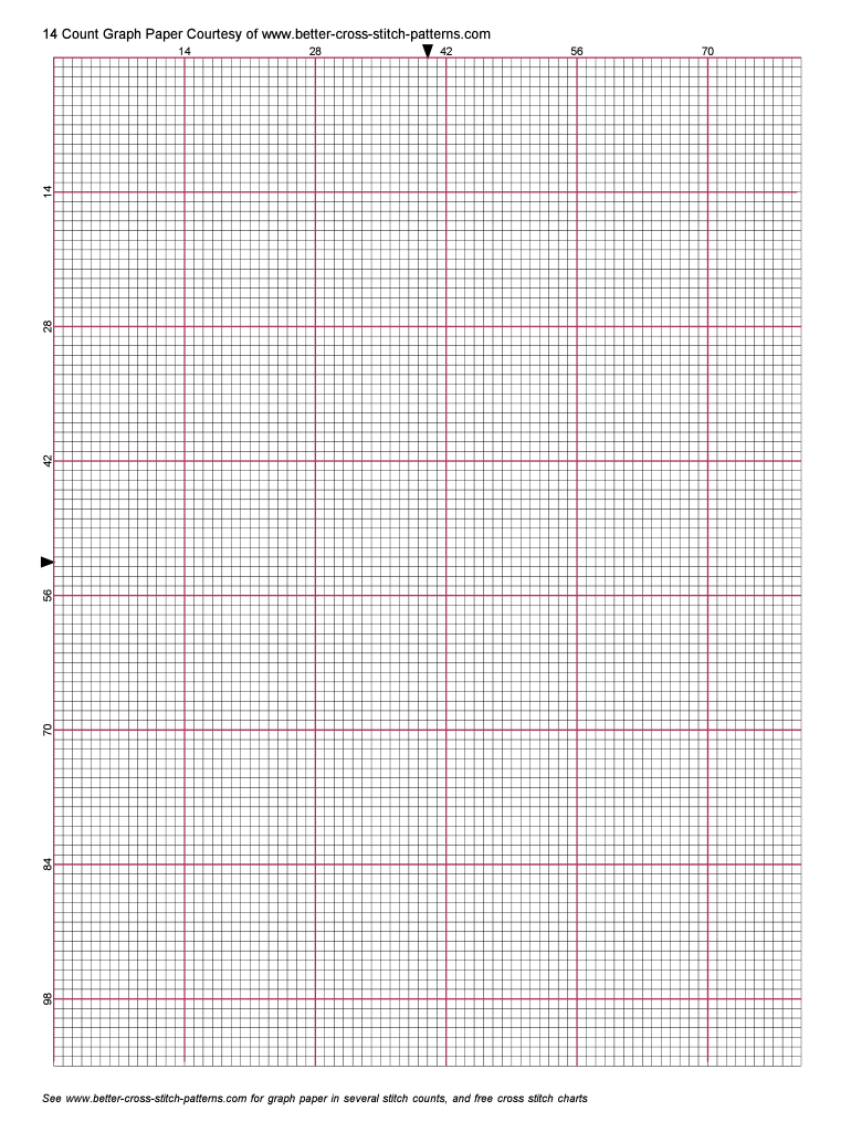 14 Count Grid Fill Online Printable Fillable Blank