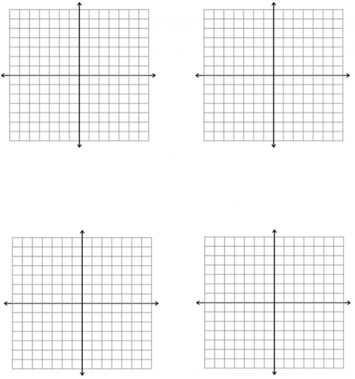 Printable Graph Paper With Axis Full Page