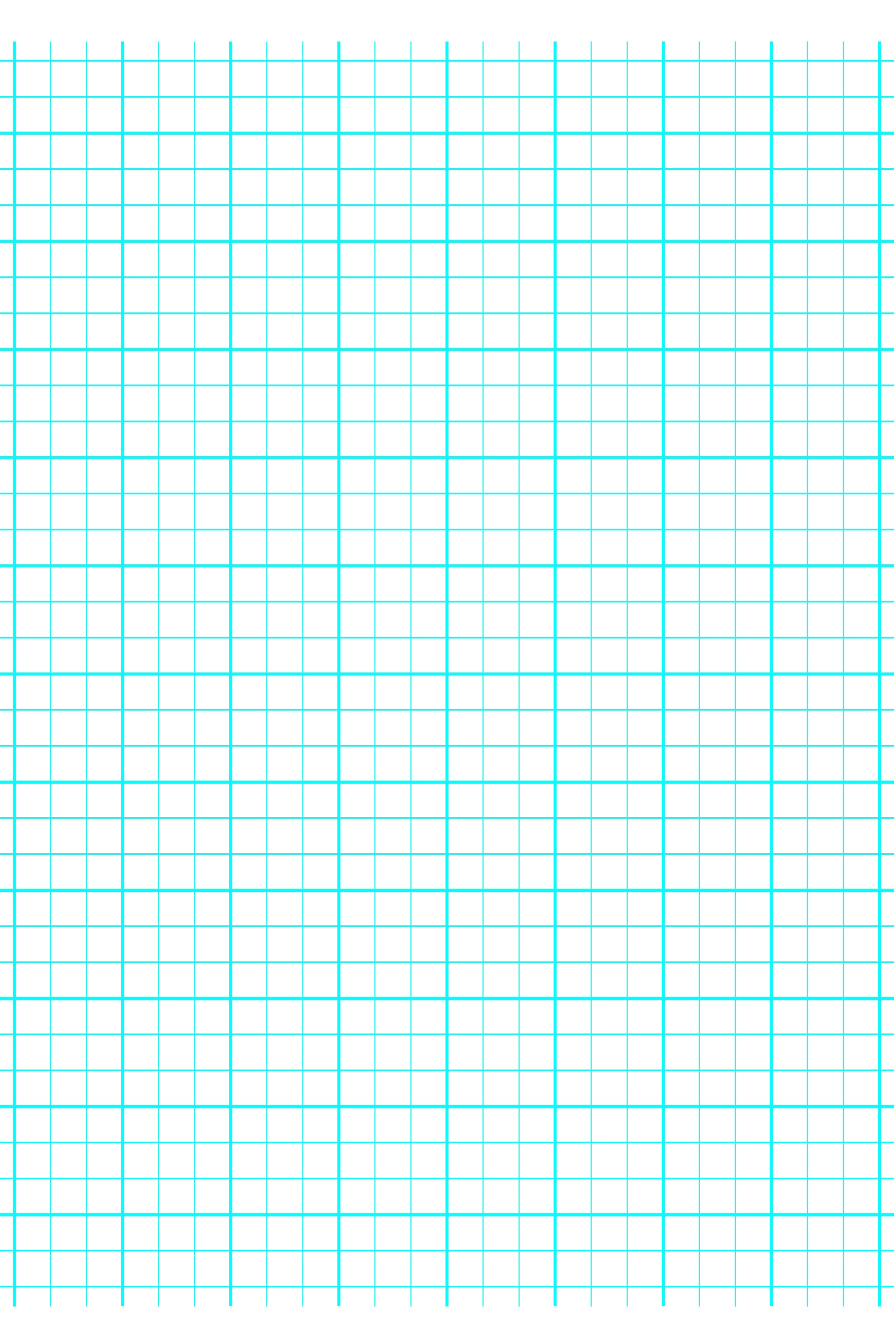 3 Lines Per Inch Graph Paper On A4 Sized Paper Heavy
