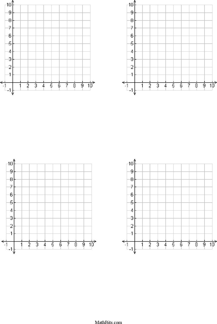 3 Numbered Graph Paper Free Download