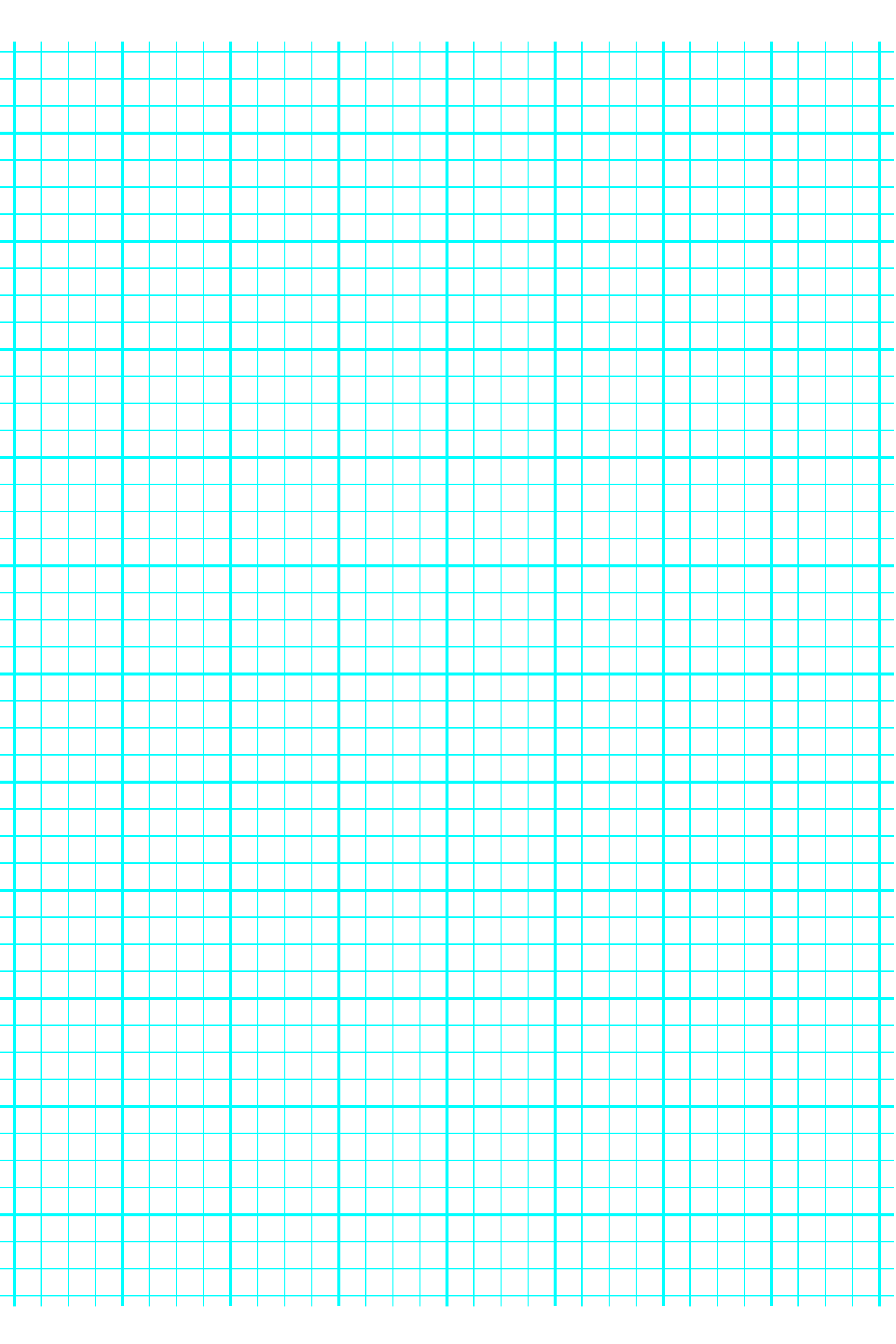 4 Lines Per Inch Graph Paper On A4 Sized Paper Heavy