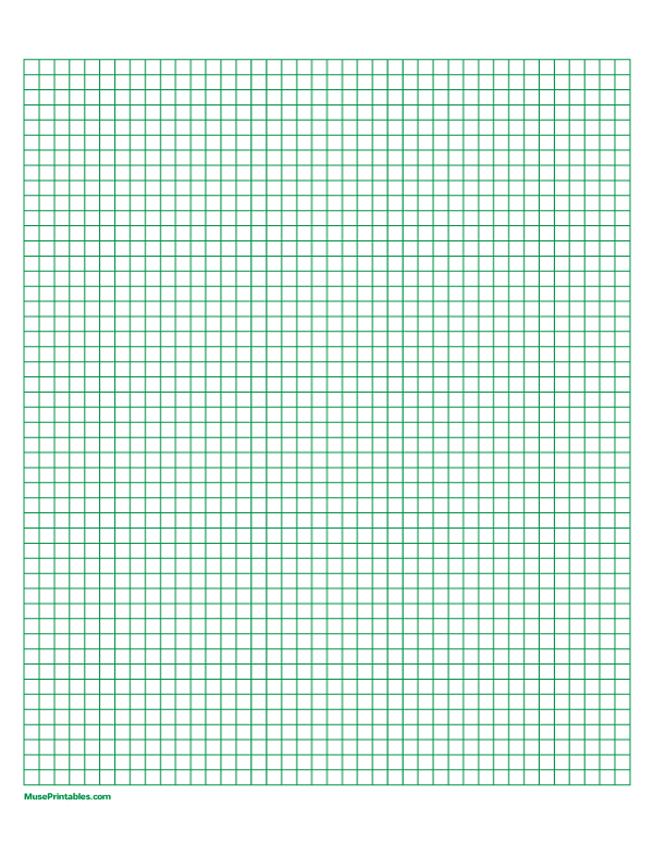 5 Mm Green Graph Paper Letter sized Paper Download The
