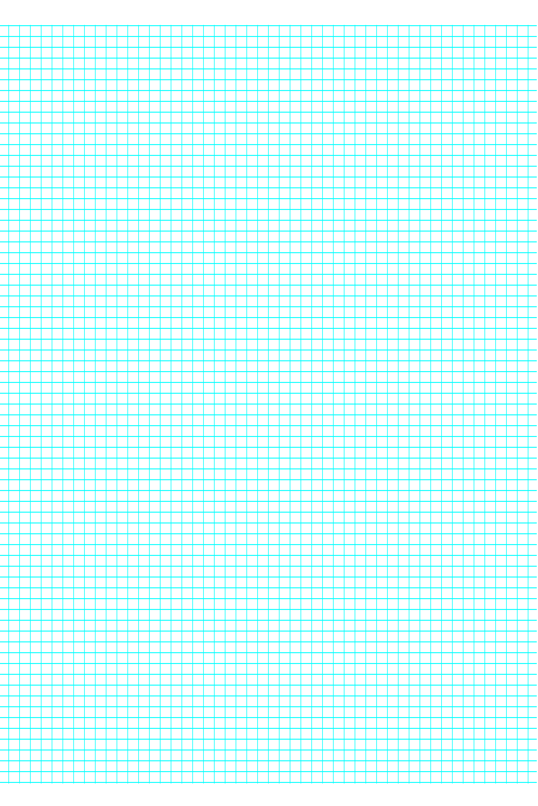 6 Lines Per Inch Graph Paper On A4 Sized Paper Free Download