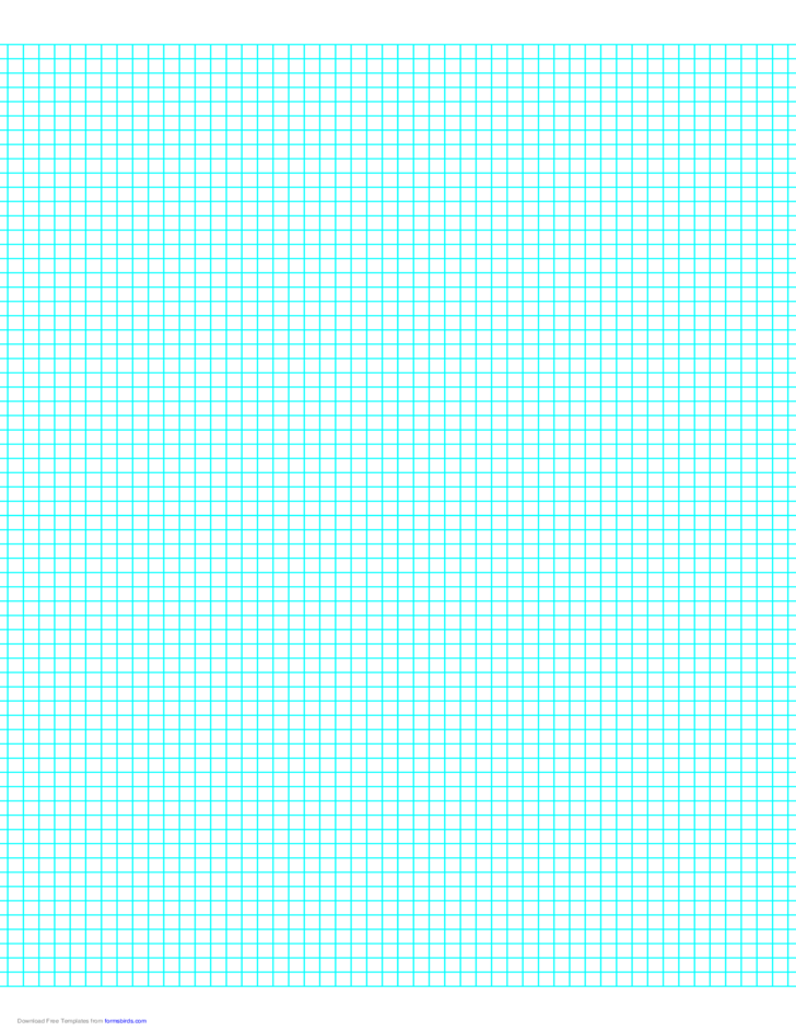6 Lines Per Inch Graph Paper On Letter Sized Paper Free