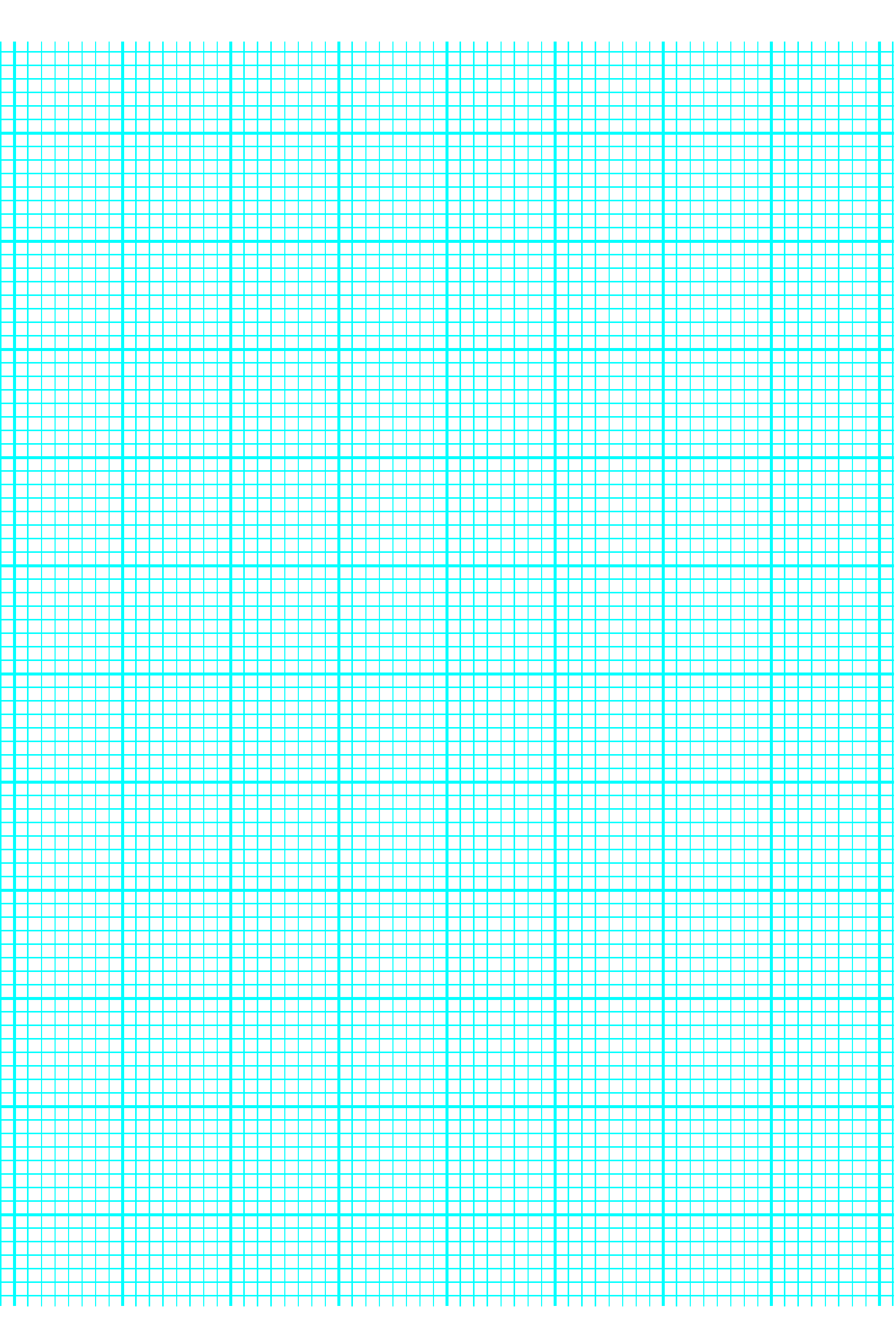 8 Lines Per Inch Graph Paper On A4 Sized Paper Heavy