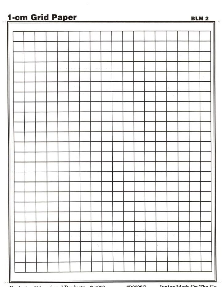 Free Centimeter Graph Paper To Print