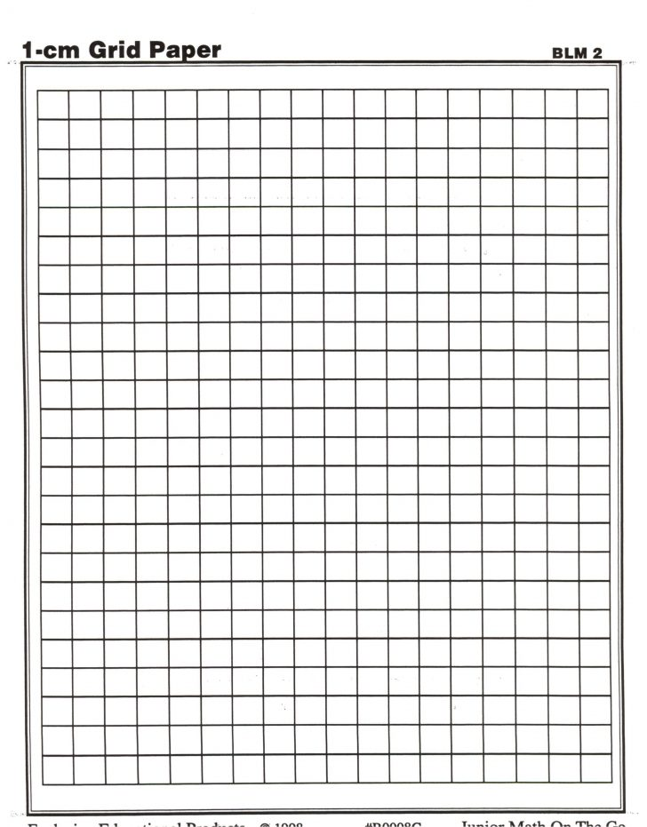 Centimeter Graph Paper Free Pintable