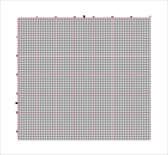 Cross Stitch Graph Paper 6 Download Free Documents In PDF