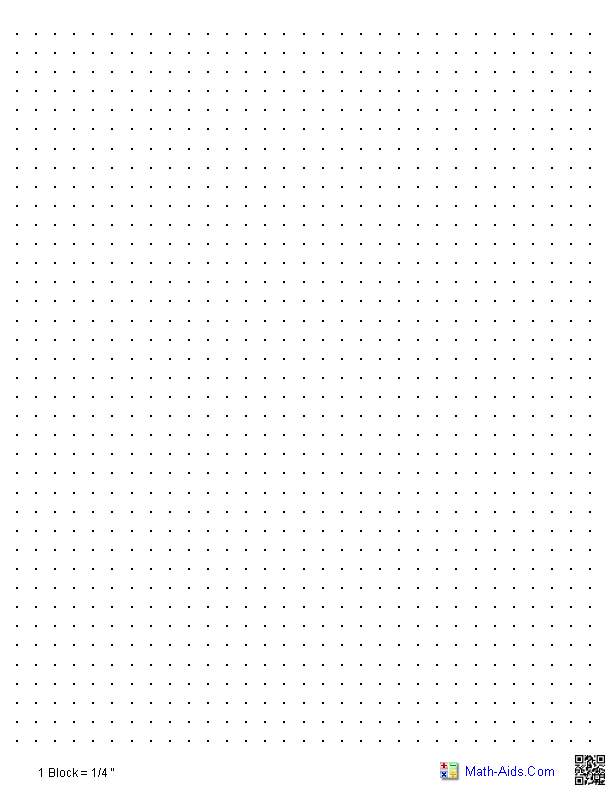 Dot Graph Paper a Useful Practice Tool For Dot grid Based