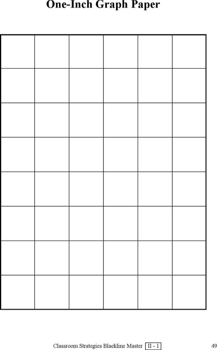 Download One Inch Graph Paper For Free Page 2