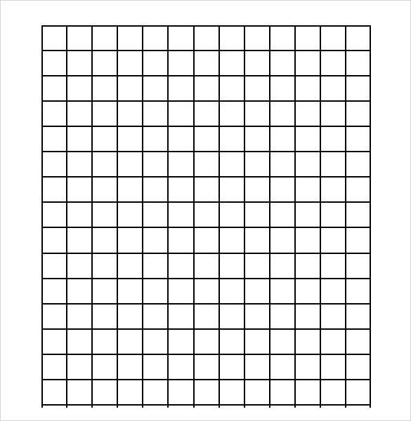 One Half Inch Graph Paper Printable