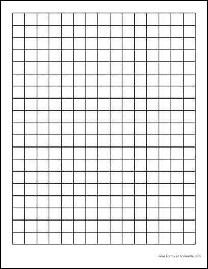 Free Graph Paper 2 Squares Per Inch Heavy Black From