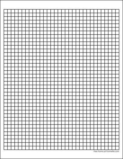 Free Graph Paper 4 Squares Per Inch Heavy Black From