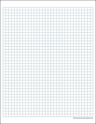 Free Graph Paper 4 Squares Per Inch Solid Blue From