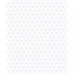 Free Online Graph Paper Triangle