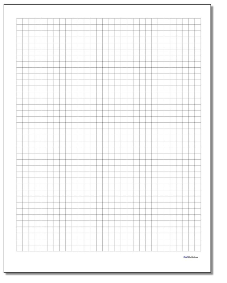 Free Printable Graph Paper Grid Paper And Dot Paper For
