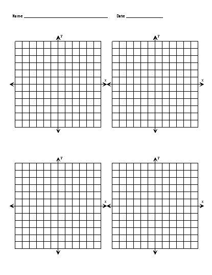 Free Printable Graph Paper With X And Y Axis Blank