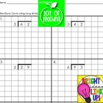 Free Printable Long Division Worksheets On Graph Paper