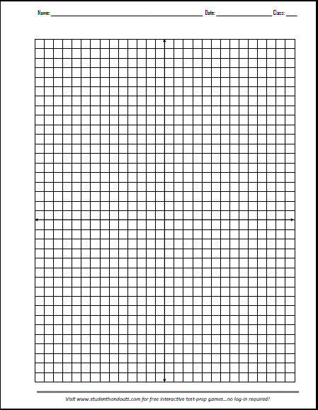 Free Printable X Y Axis Graphing Paper Math Graphic