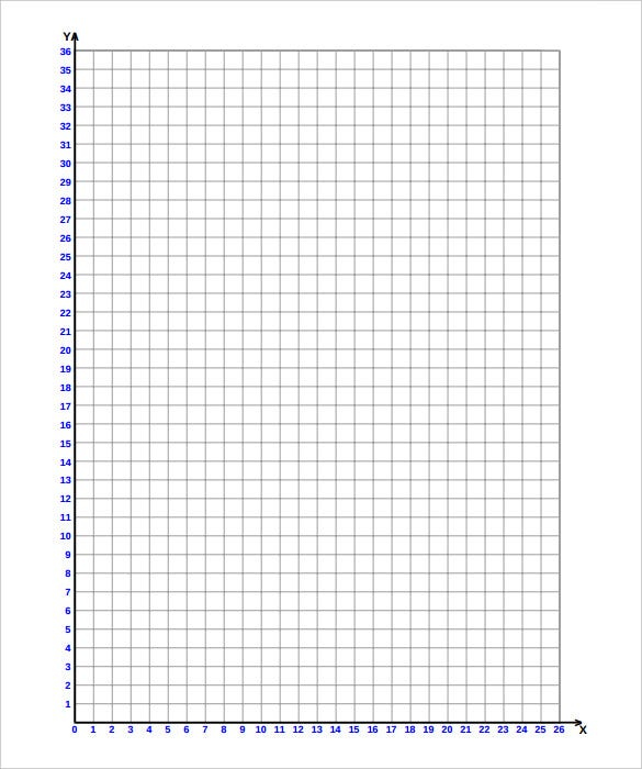 Free Coordinate Plane Graphing Paper