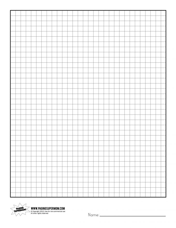 Printable Graph Paper For Room Design