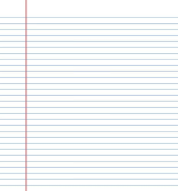 Lined Paper Template Free Premium Templates