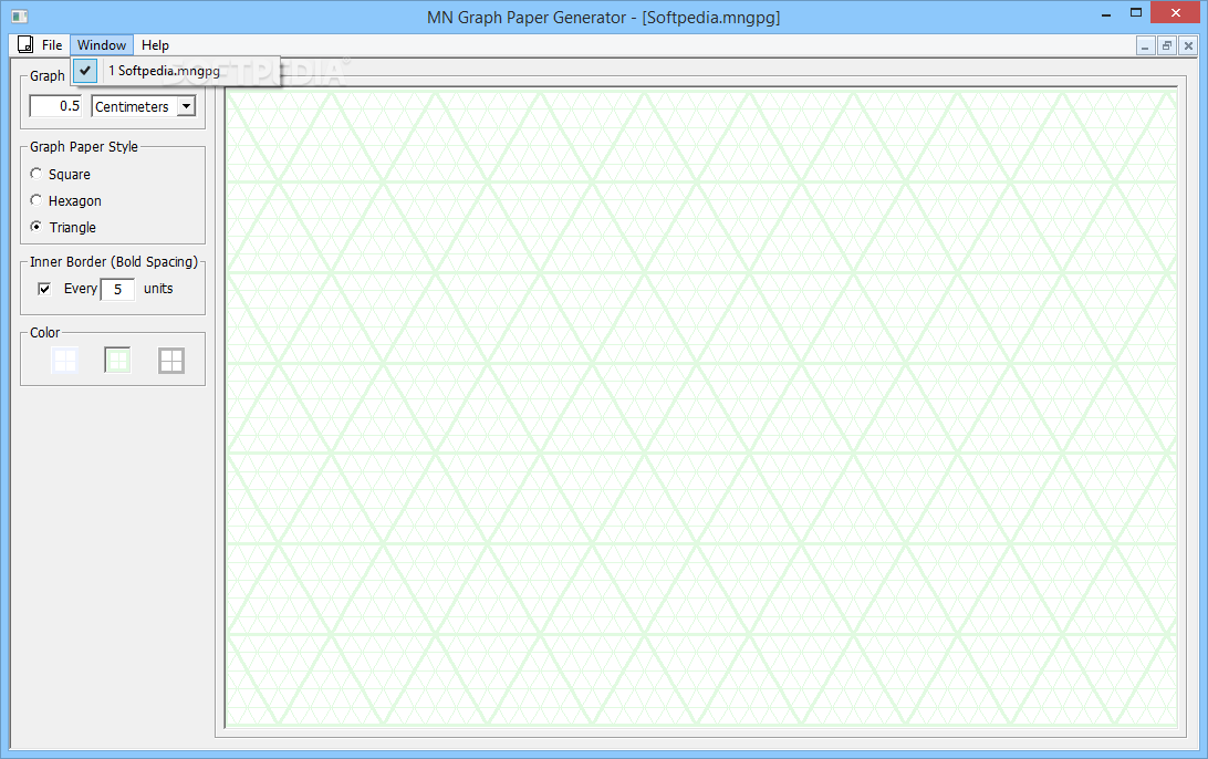MN Graph Paper Generator Download Free With Screenshots