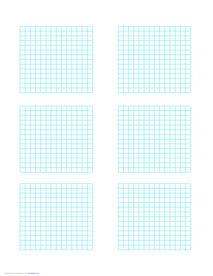 Multiple Graphs 6 per Page Free Download