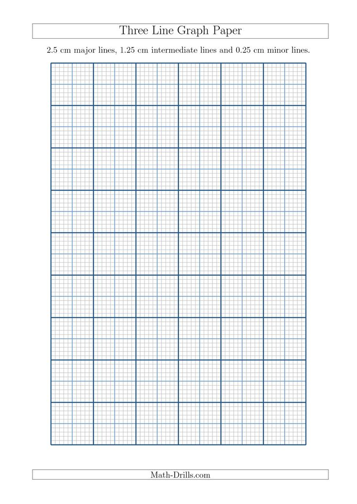 New A4 Sizes Added 2015 09 18 Three Line Graph Paper With