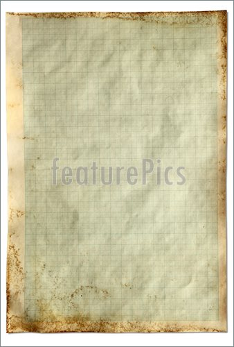 Picture Of Stained Graph Paper