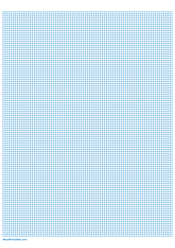 Printable 1 10 Inch Blue Graph Paper For A4 Paper
