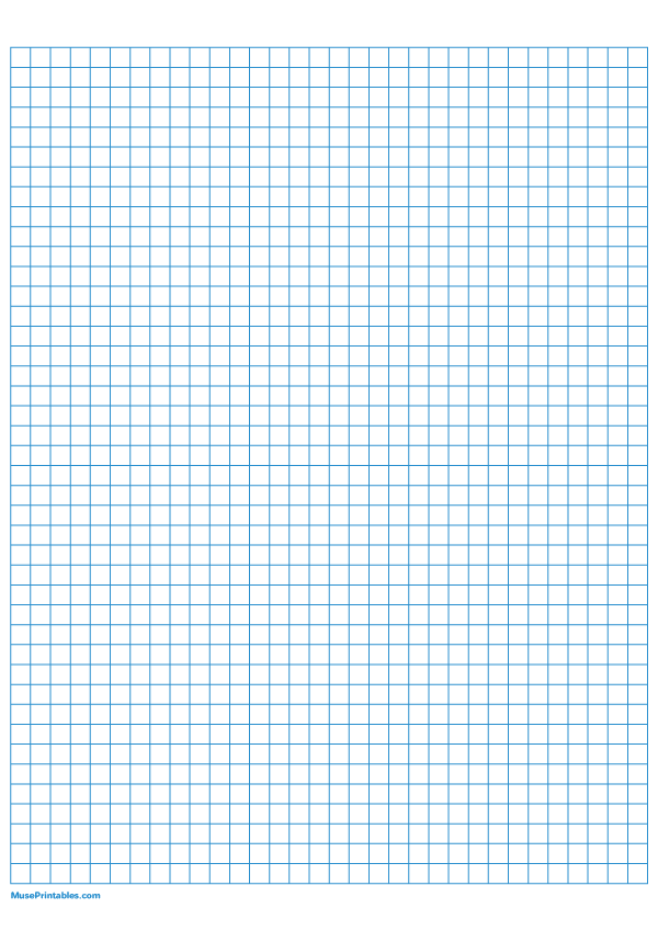 Printable 1 4 Inch Blue Graph Paper For A4 Paper