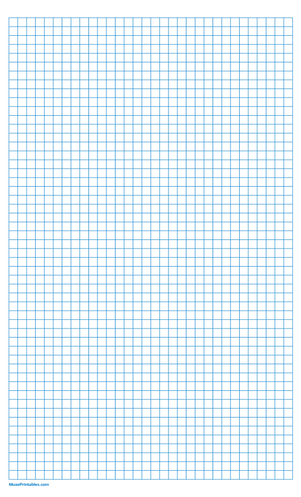 Printable 1 4 Inch Blue Graph Paper For Legal Paper