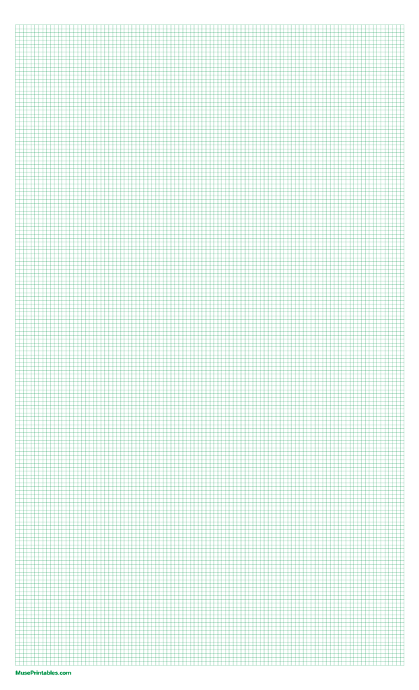 Printable 2 Mm Green Graph Paper For Legal Paper Free