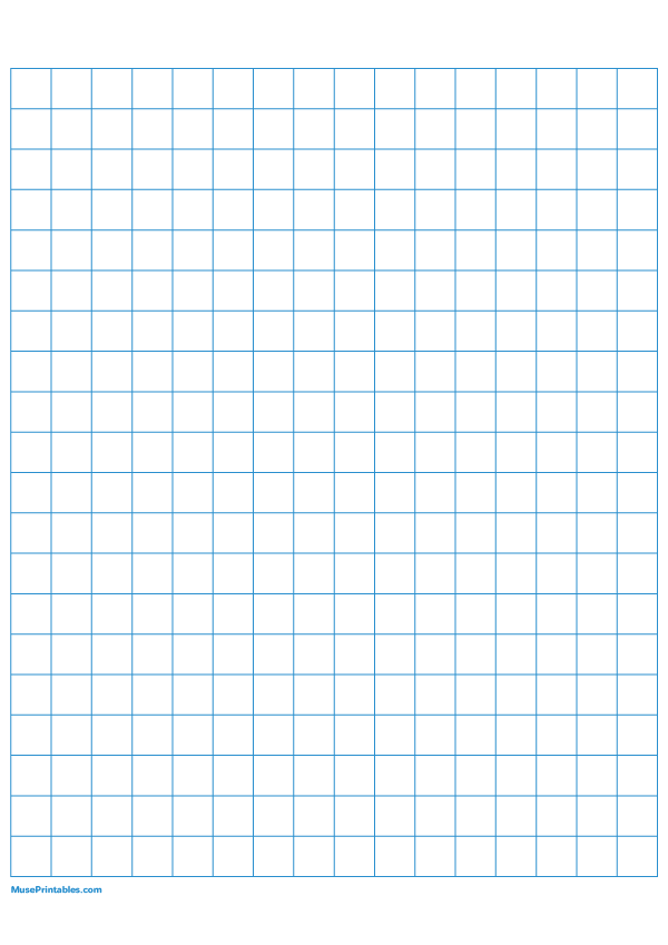 Printable Half Inch Blue Graph Paper For A4 Paper Free