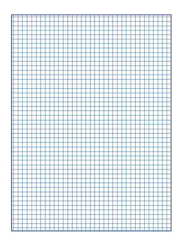 School Smart Graph Paper 1 4 Inch Rule 9 X 12 Inches