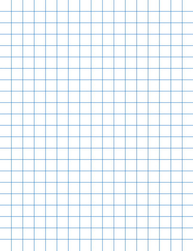 School Smart Graph Paper 8 1 2 X 11 Inches 1 2 Inch Rule