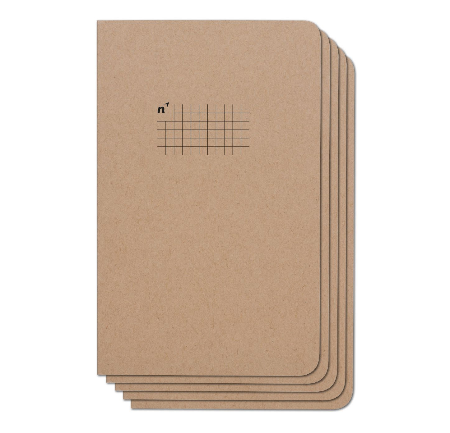 Squares 5 Pack Of 5x8 Notebooks 96 Pages College Rule