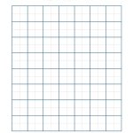 Two Line Graph Paper With 1 Inch Major Lines And 1 2 Inch